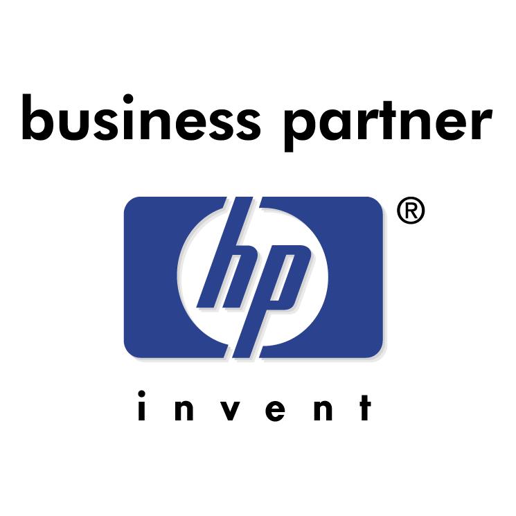 Hewlett packard business partner 0 Free Vector / 4Vector.