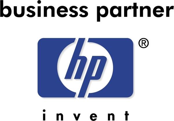 Hp logo clip art.