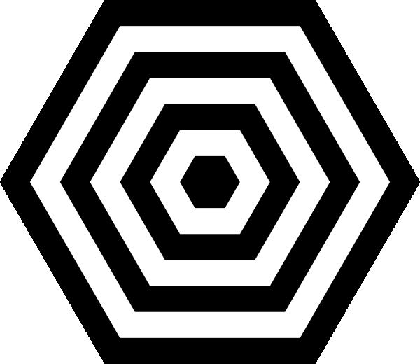 Hex Target SVG Downloads.