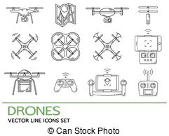 Hexacopter Vector Clip Art Illustrations. 174 Hexacopter clipart.