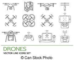 Hexacopter Vector Clip Art Illustrations. 174 Hexacopter clipart.