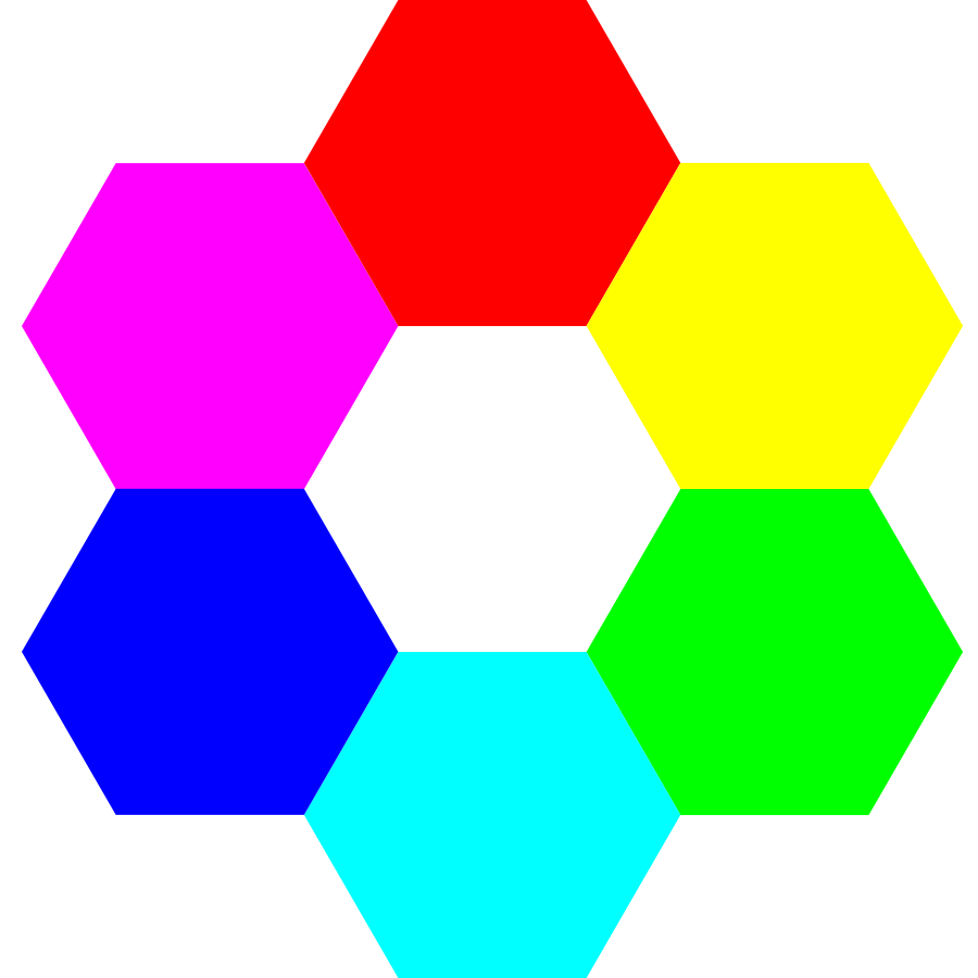 Hexagon Clipart.