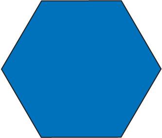 Hexagon Shape Clipart.