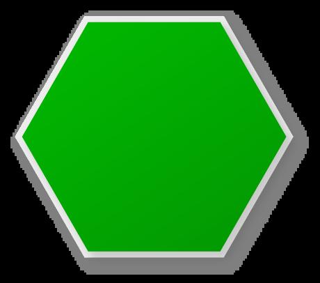 Hexagon clip art free.