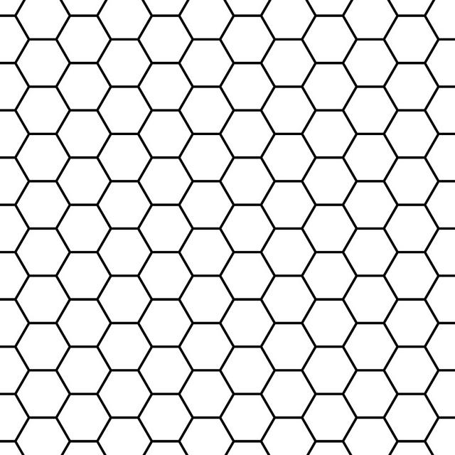 Hexagon Outline.