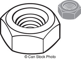 Hex nut Clip Art and Stock Illustrations. 207 Hex nut EPS.