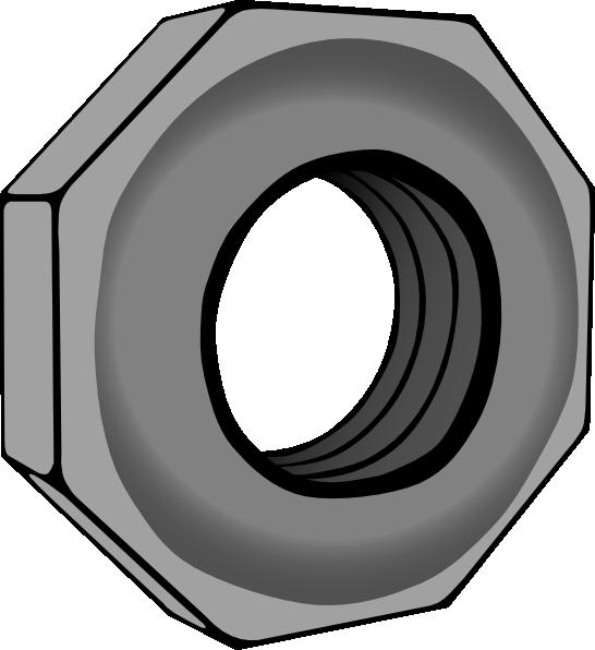 Hex Nut Clip Art at Clker.com.
