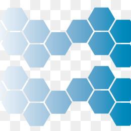 Hexagon Vector PNG.