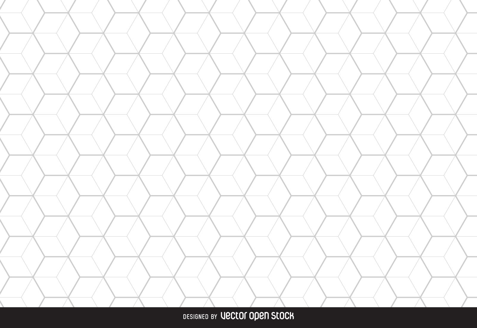 Honeycomb hexagonal background.