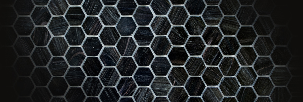 Hexagonal.