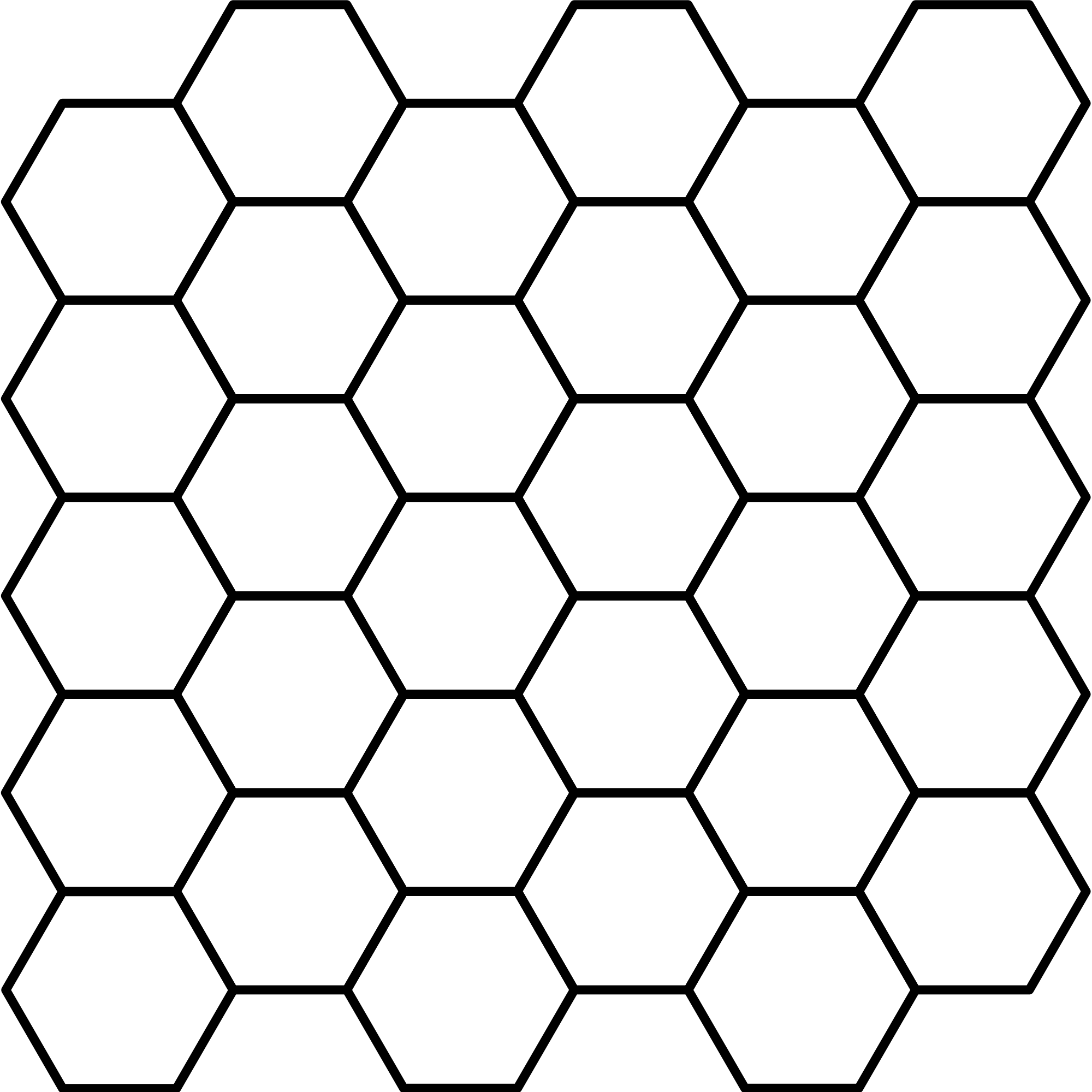 File:Hexagonal tiling.svg.