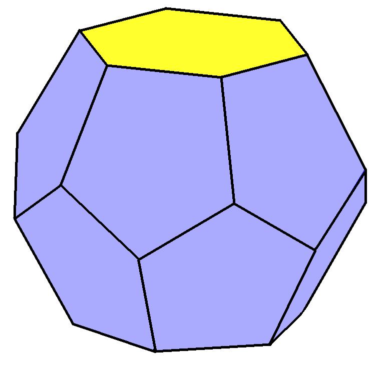 Truncated hexagonal trapezohedron.