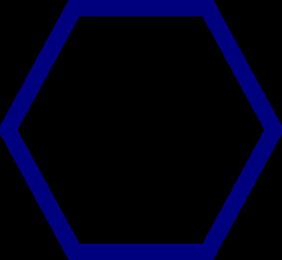 Hexagon Clip Art Clipart.