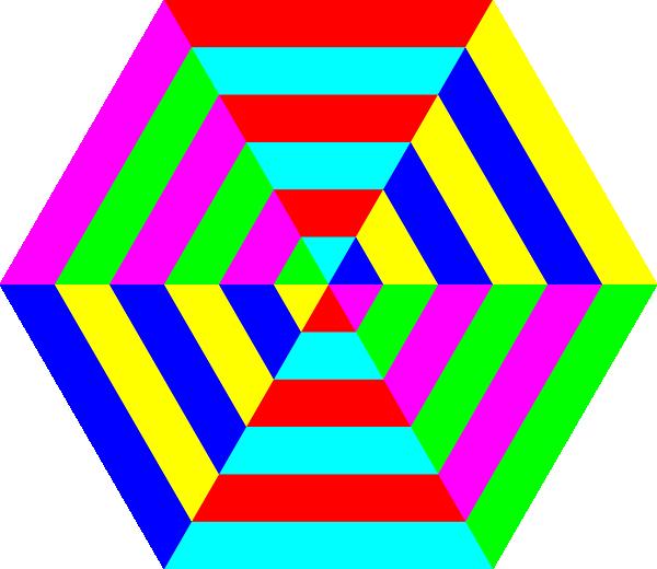 Hexagonal Clipart.
