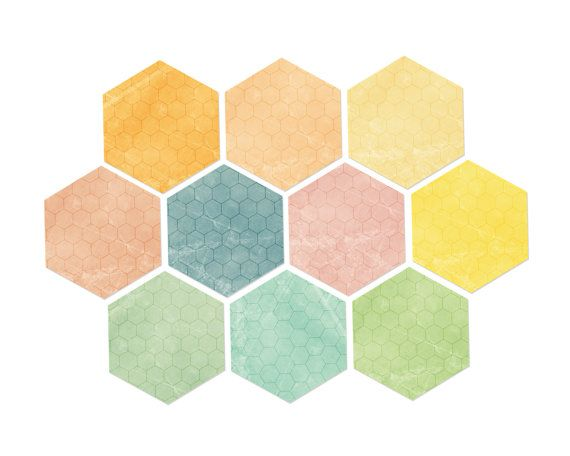9 Best images about HEXAGONS on Pinterest.