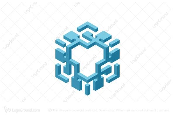 Exclusive Logo 177394, Hexagon Logo.