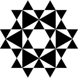 Hexagram Clip Art Download.