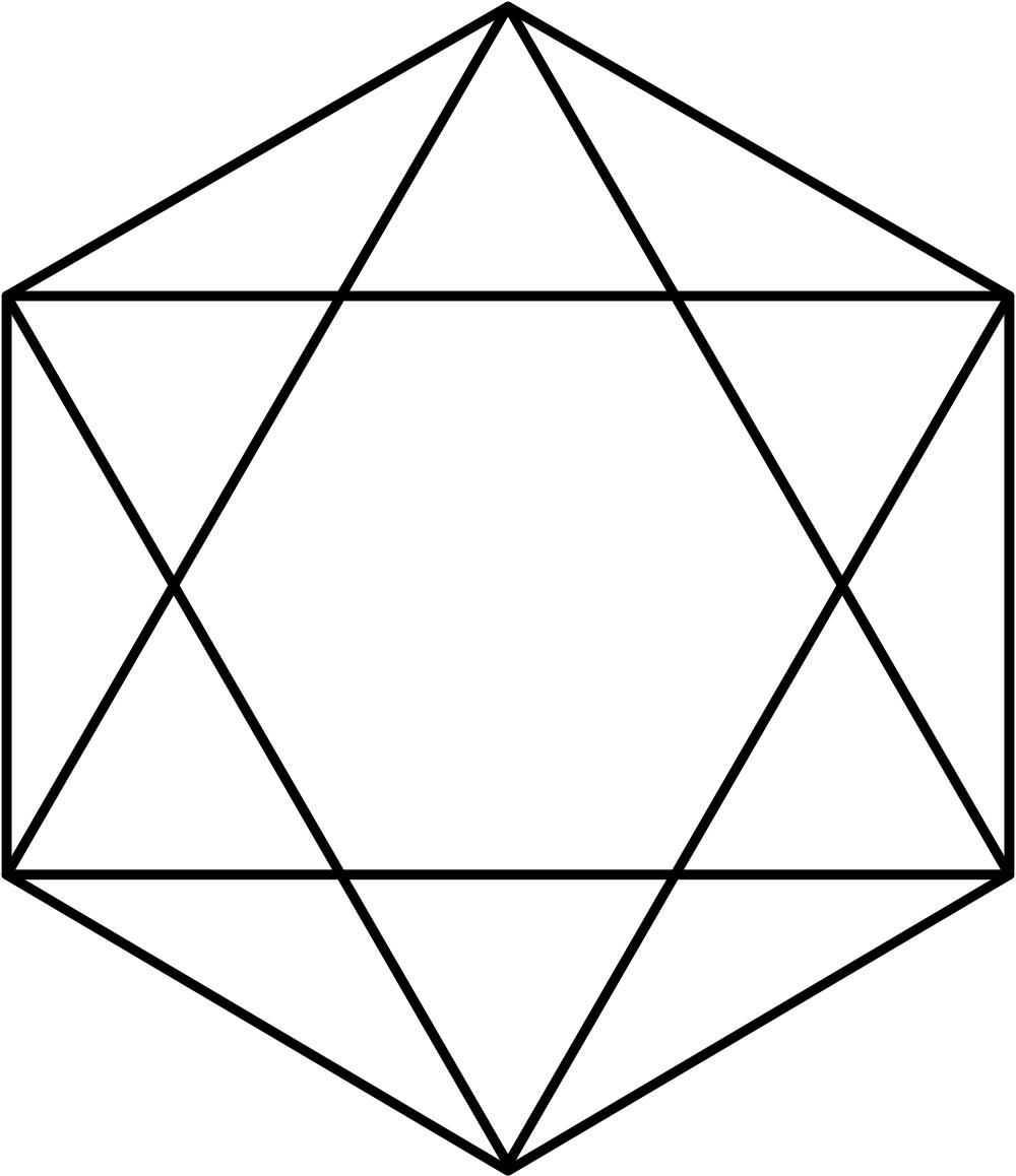 File:Hexagram and Hexagon.svg.