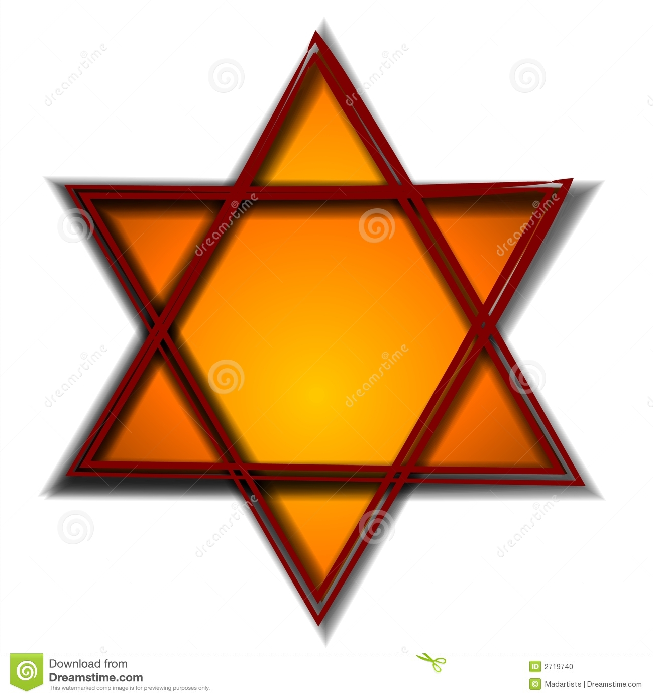 Hexagram Stock Illustrations.
