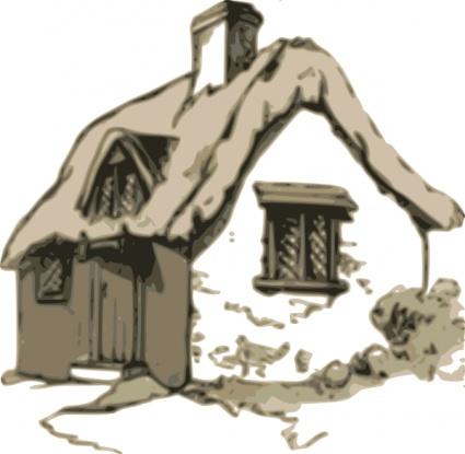 Hütte ClipArt cliparts, kostenlose clipart.