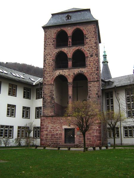 Hexenturm, University of Heidelberg History faculty, Germany.