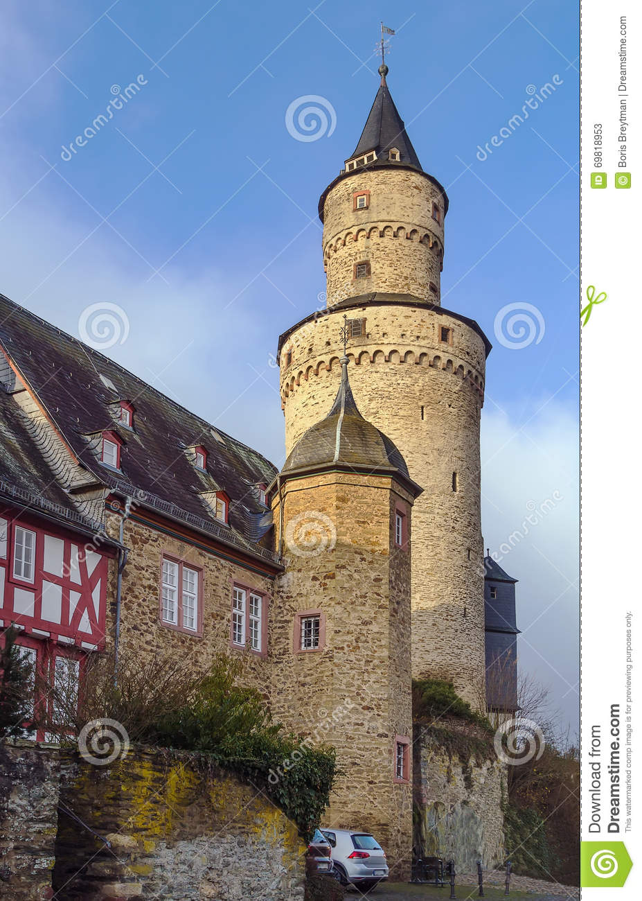 The Hexenturm (Witches' Tower), Idstein, Germany Stock Photo.