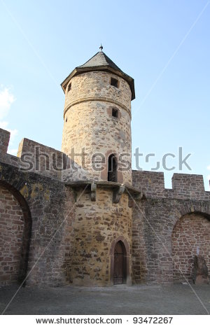 Old Tower Stock Photos, Royalty.