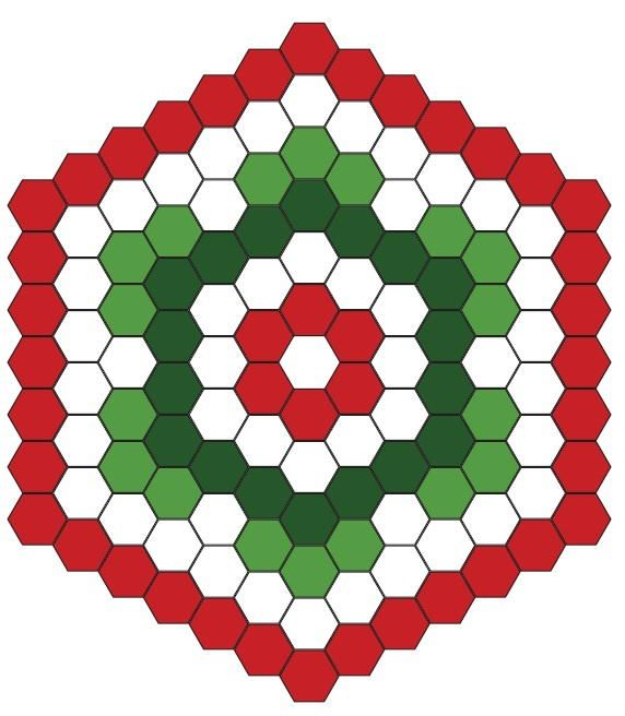 1000+ images about hexagon quilt on Pinterest.