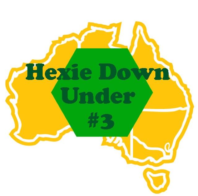 Bendigo Lioness: Hexie Down Under Round 3.