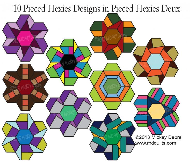 1000+ images about QUILTS: Hexagons on Pinterest.