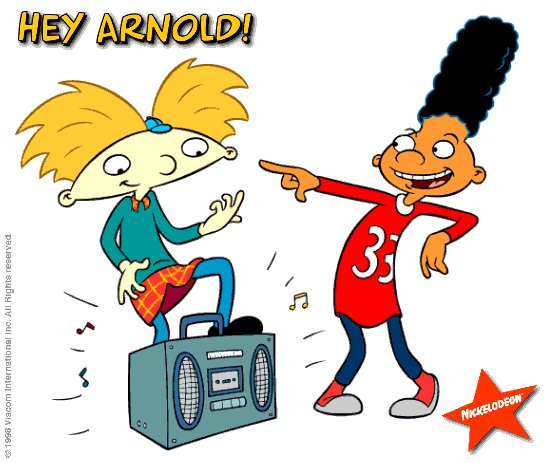 Hey Arnold Clipart.