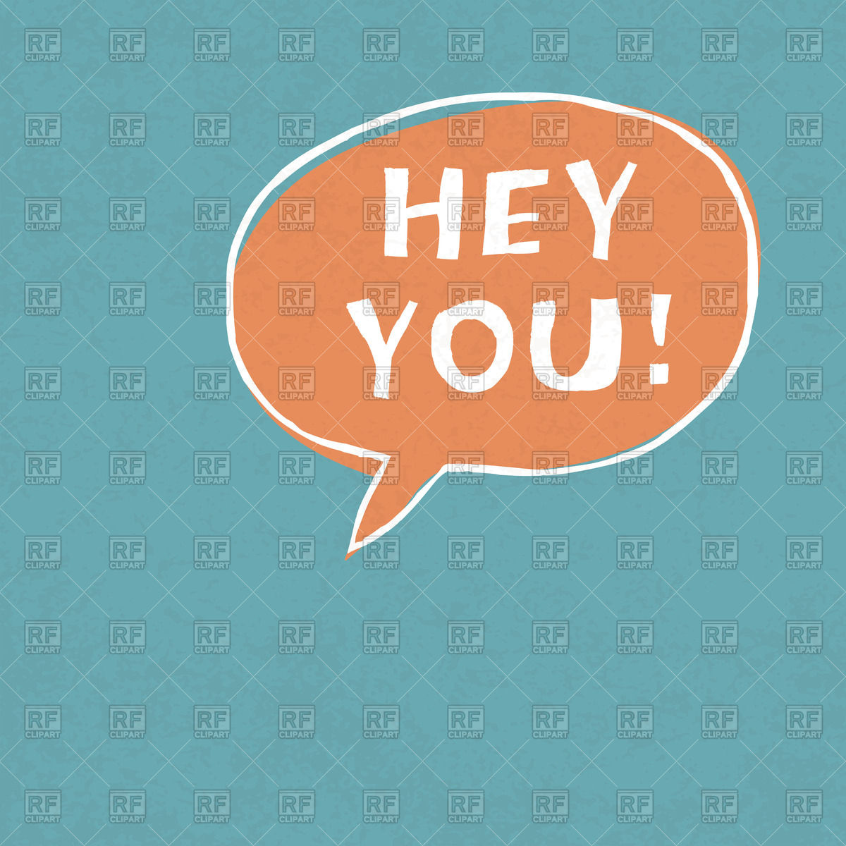 Hey You Clipart.