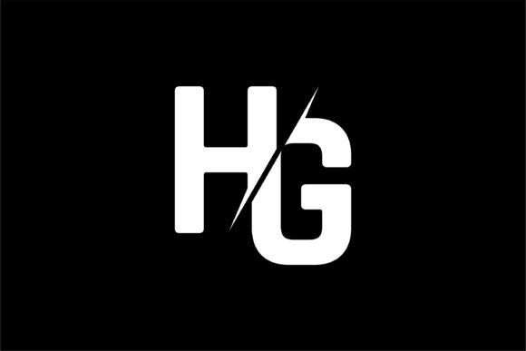 Monogram HG Logo Design.