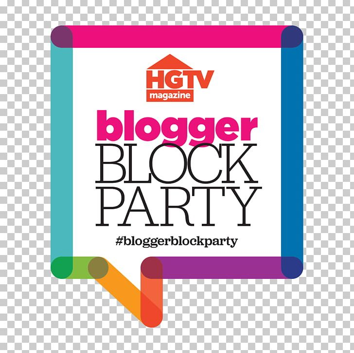 HGTV Dream Home Logo Block Party DIY Network PNG, Clipart.