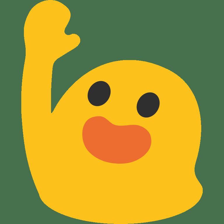 Hi Five Emoji transparent PNG.