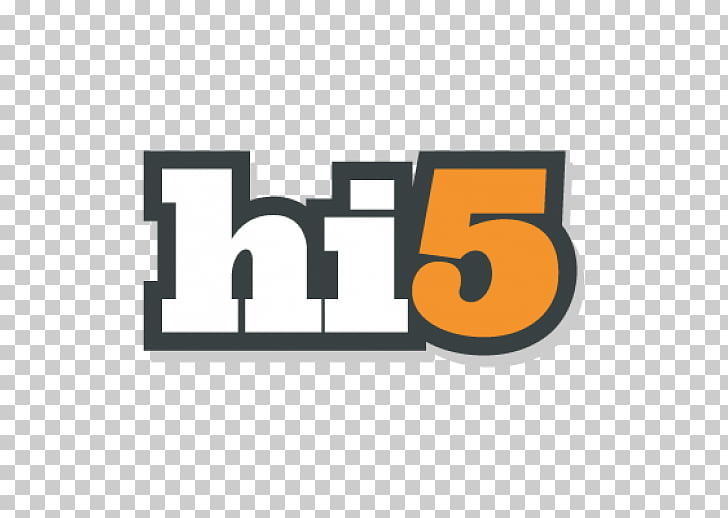 Hi5 Social media Social network Myspace Facebook, hi5 logo.
