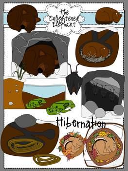 Hibernation Clip Art.