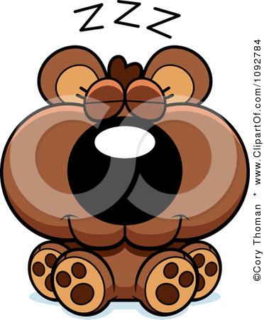 Hibernation clipart #16
