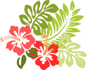 Hibiscus Clip Art at Clker.com.
