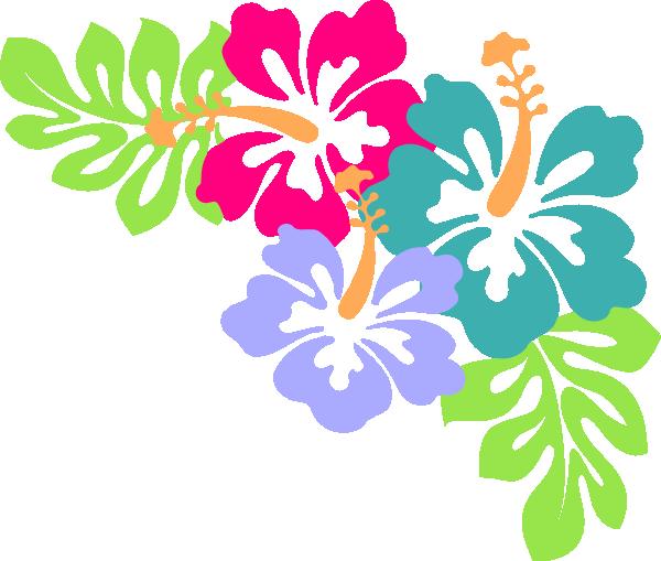 Hawaiian Flower Border.