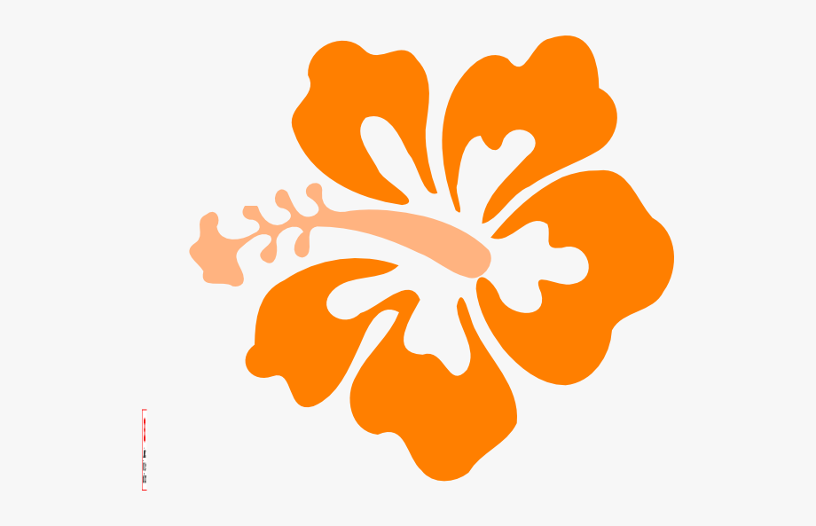 Coral Hibiscus Clip Art At Clker.