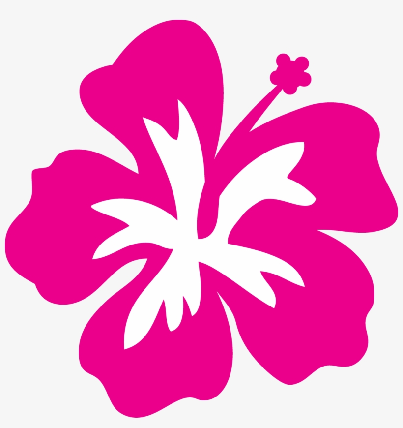 Hibiscus Flower Outline Free Download Clip Art Free.