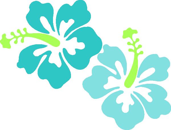 Hawaiian Luau Border Clipart.