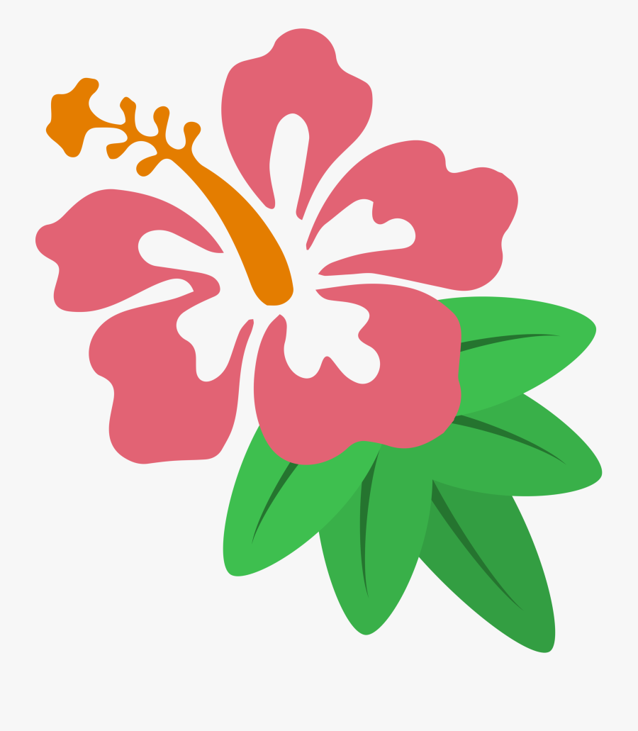 Hawaiian Hibiscus Drawing Clip Art.