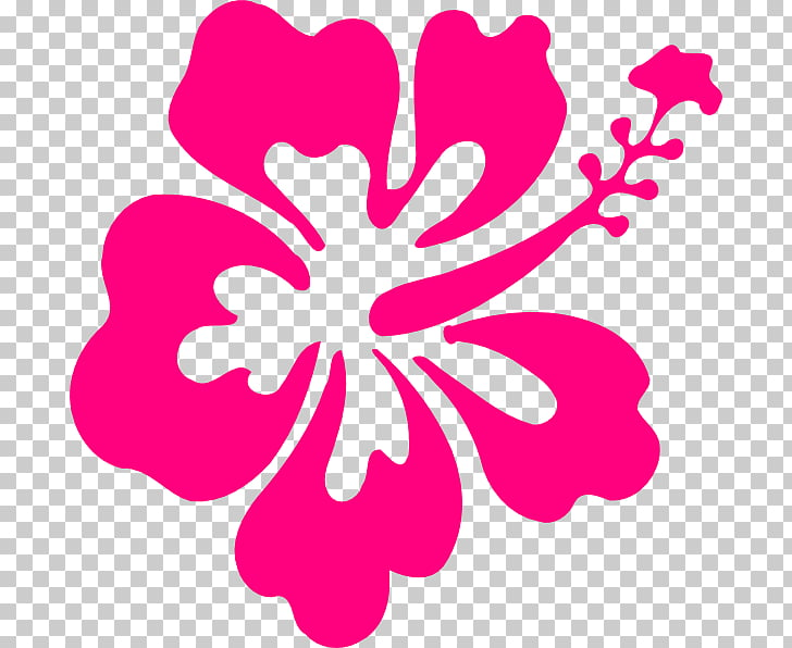 Hibiscus , aloha PNG clipart.