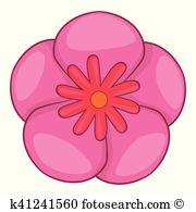 Hibiscus syriacus Clip Art EPS Images. 18 hibiscus syriacus.