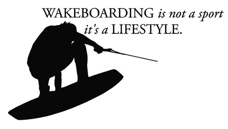 Water Wakeboard Clipart.