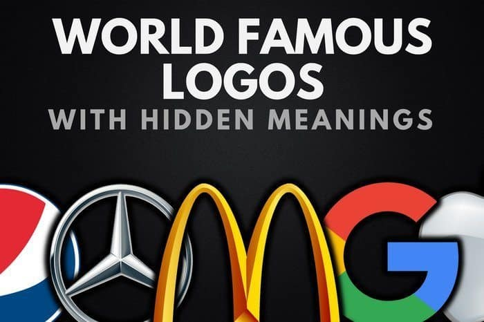 The Top 15 World Famous Logos With Hidden Meanings.