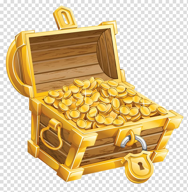Buried treasure Pirate , Treasure Chest , golden chest.