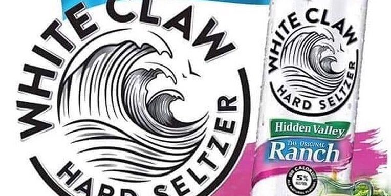 Someone Made A Parody White Claw Ranch Flavor On Instagram.